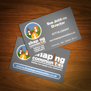 Business Card Design - Shaping Communities