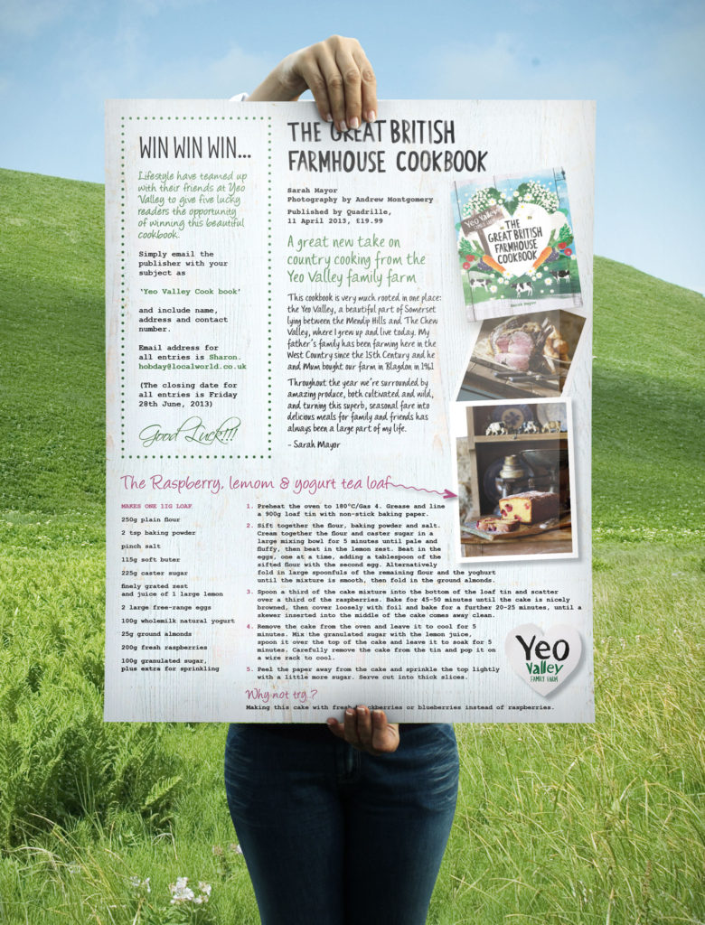 Yeo Valley Full Page Spread