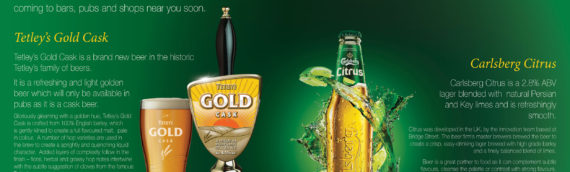Carlsberg Double Page Spread (for newspaper)